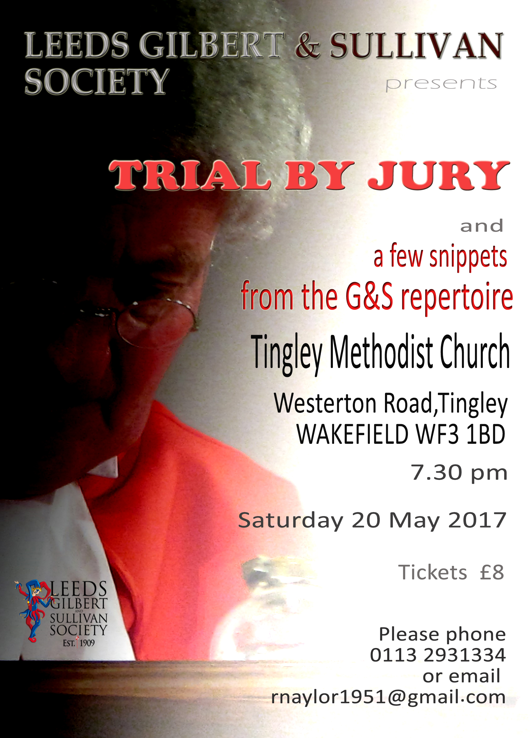 Trial By Jury Flyer