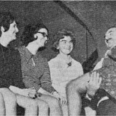 Carole Jenkinson, Irene Barcley, Shirley Teale, Marjorie Stoker, Judith Naylor